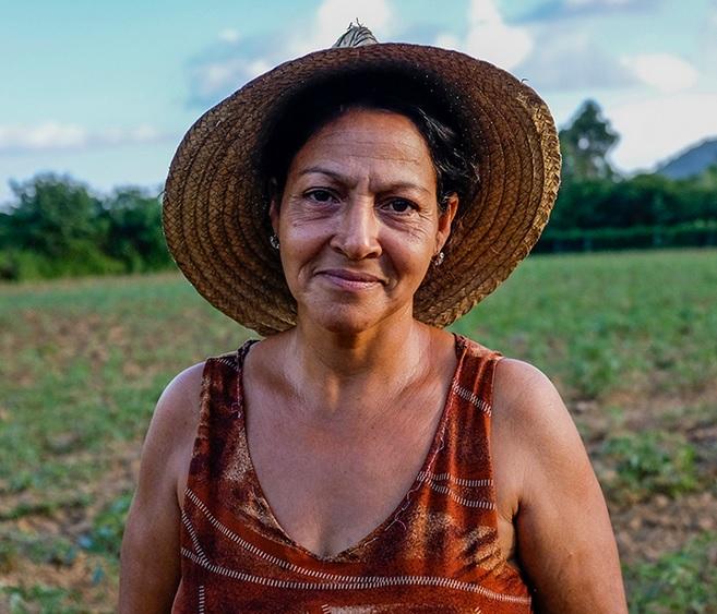 Adela Pantoja. Foto tomada de Periodismo de Barrio. tribución-NoComercial-CompartirIgual 3.0 No portada (CC BY-NC-SA 3.0).