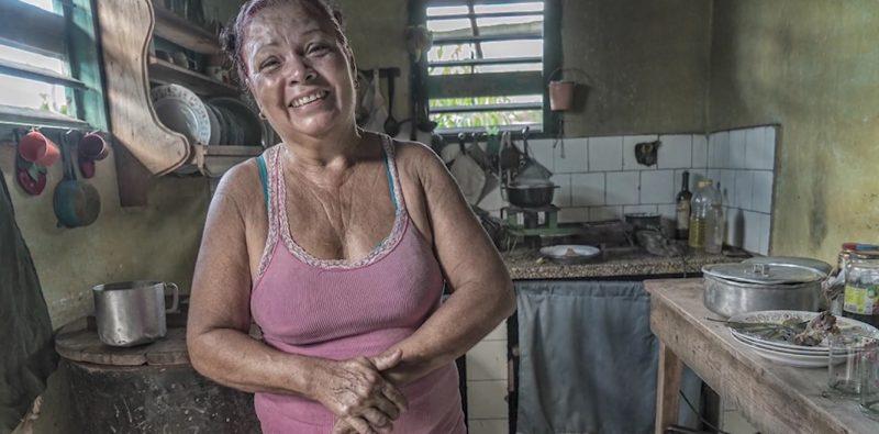 Nieves Mojena. Imagen tomada de Periodismo de Barrio. Atribución-NoComercial-CompartirIgual 3.0 No portadaCC BY-NC-SA 3.0.