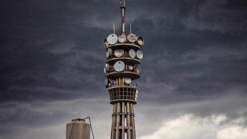 La tour de Telmex à Mexico, photo prise par Carlos Adampol Galindo / Flickr, sous licence CC BY-SA 2.0