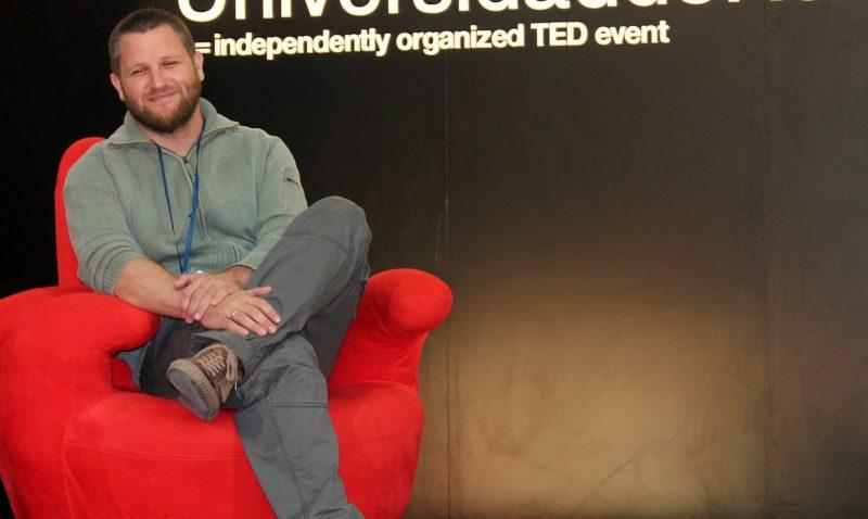 David Beriain. Picha kutoka TEDx UniversidaddeNavarra kupitia Flickr. (CC BY 2.0)