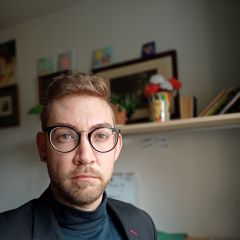 Un pequeño retrato de Bruno Salgado